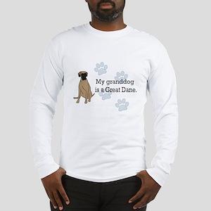 Granddog Fawn Great Dane Long Sleeve T-Shirt