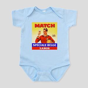 Belgium Beer Label 9 Infant Bodysuit