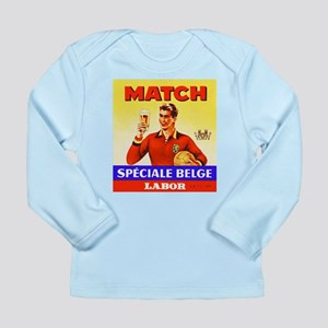 Belgium Beer Label 9 Long Sleeve Infant T-Shirt