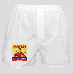 Belgium Beer Label 9 Boxer Shorts