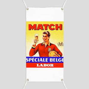 Belgium Beer Label 9 Banner