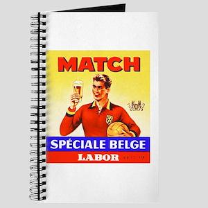 Belgium Beer Label 9 Journal