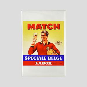 Belgium Beer Label 9 Rectangle Magnet