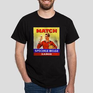 Belgium Beer Label 9 Dark T-Shirt