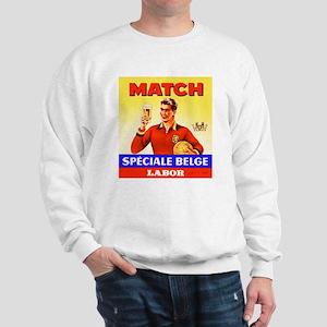 Belgium Beer Label 9 Sweatshirt