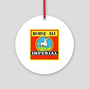 Belgium Beer Label 6 Ornament (Round)