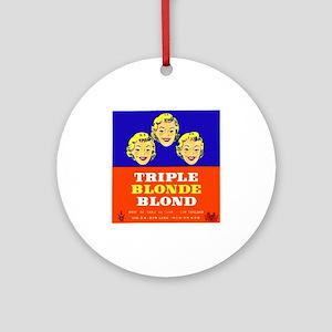 Belgium Beer Label 5 Ornament (Round)