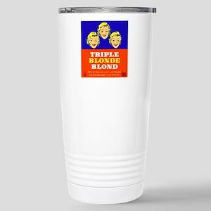 Belgium Beer Label 5 Stainless Steel Travel Mug