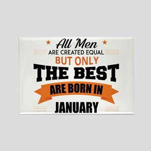 Legends Are Born In January Magnets