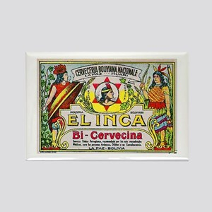 Bolivia Beer Label 3 Rectangle Magnet