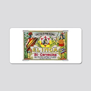 Bolivia Beer Label 3 Aluminum License Plate