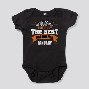 Legends Are Born In January Body Suit