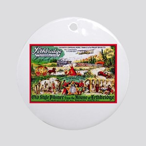 Canada Beer Label 15 Ornament (Round)