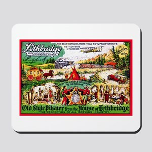Canada Beer Label 15 Mousepad