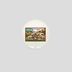 Canada Beer Label 15 Mini Button