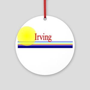 Irving Ornament (Round)