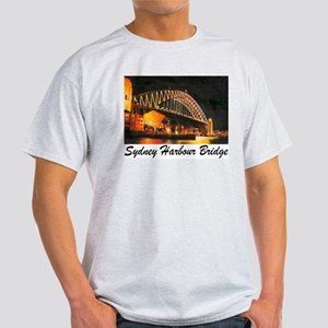 Sydney Harbour Bridge Ash Grey T-Shirt