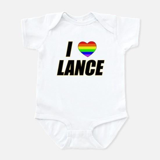 I heart Lance Infant Creeper