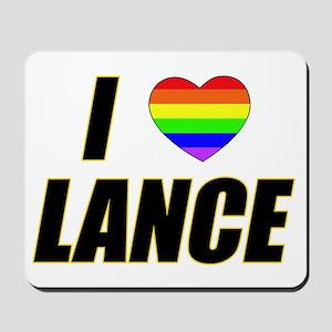 I heart Lance Mousepad