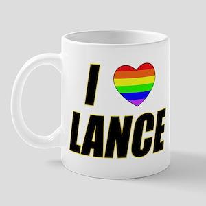 I heart Lance Mug