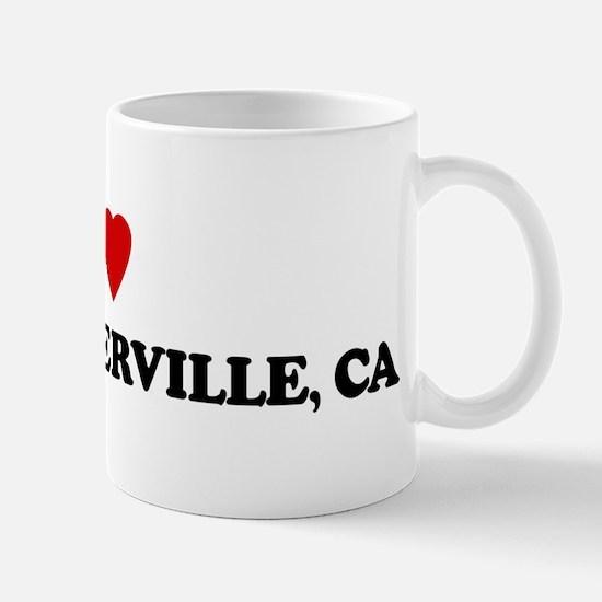 I Love EAST PORTERVILLE Mug