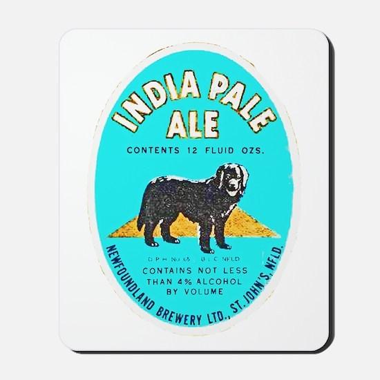 Canada Beer Label 8 Mousepad