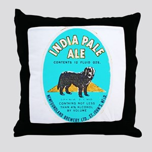 Canada Beer Label 8 Throw Pillow