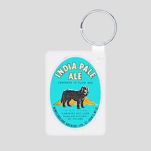 Canada Beer Label 8 Aluminum Photo Keychain
