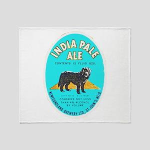 Canada Beer Label 8 Throw Blanket