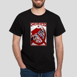 CCCP Black T-Shirt