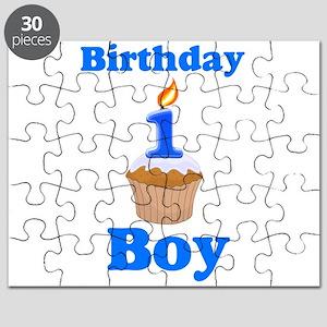 1 year old Birthday boy Puzzle