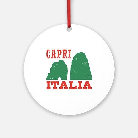 Capri Italia Ornament (Round)