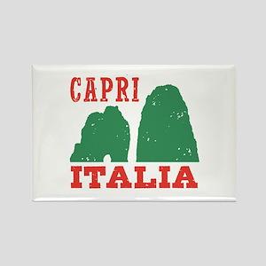 Capri Italia Rectangle Magnet