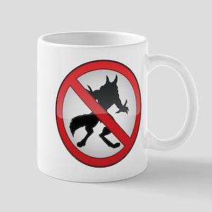 No Werewolves Mug