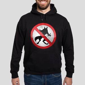 No Werewolves Hoodie (dark)