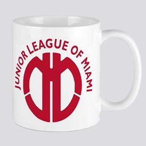 Junior League of Miami Logo Circular Red 2 Mug