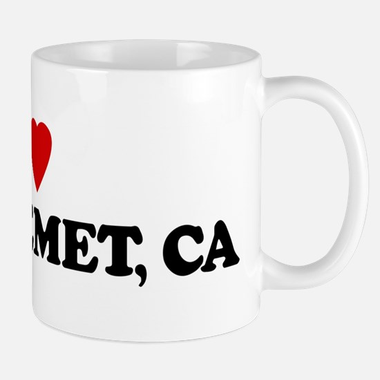 I Love EAST HEMET Mug