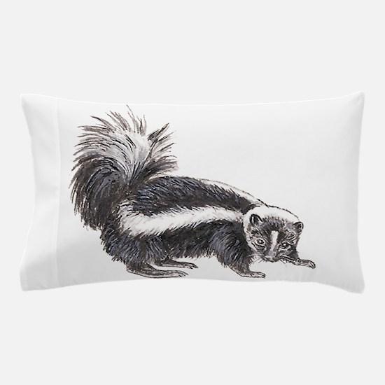 Striped Skunk Pillow Case