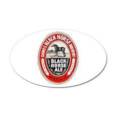 Canada Beer Label 6 22x14 Oval Wall Peel
