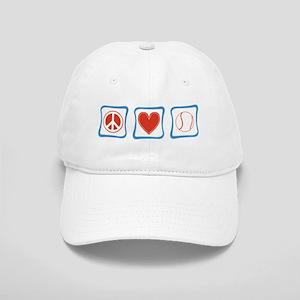 Peace Love Tennis Cap