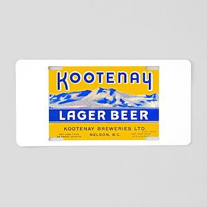 Canada Beer Label 3 Aluminum License Plate