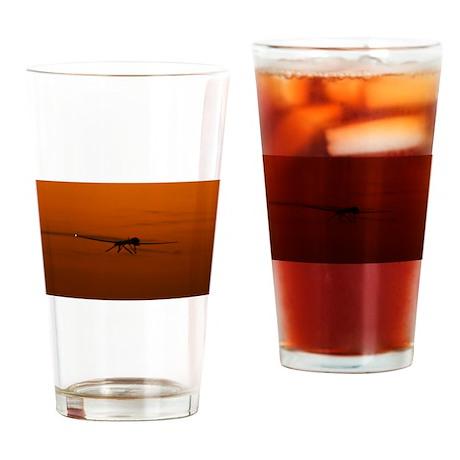 MQ-9 Reaper USAF Drinking Glass