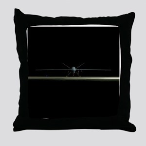 MQ-9 Reaper Throw Pillow
