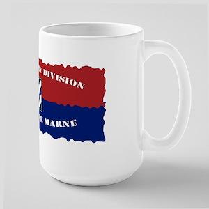 ID Flag Banner Large Mug