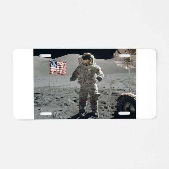 RightPix Moon G1 Aluminum License Plate