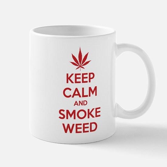 Keep calm and smoke weed Mug