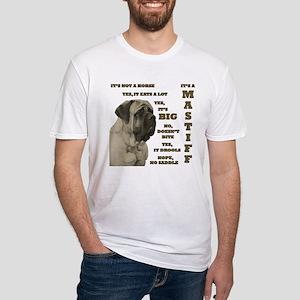 Mastiff FAQ Fitted T-Shirt