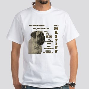 Mastiff FAQ White T-Shirt