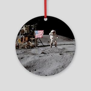 RightPix Moon F1 Ornament (Round)