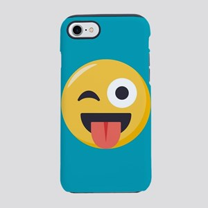 Winky Tongue Emoji iPhone 7 Tough Case